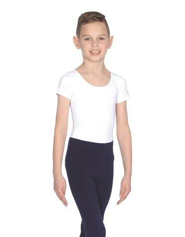Boys' Cap Sleeved Leotard