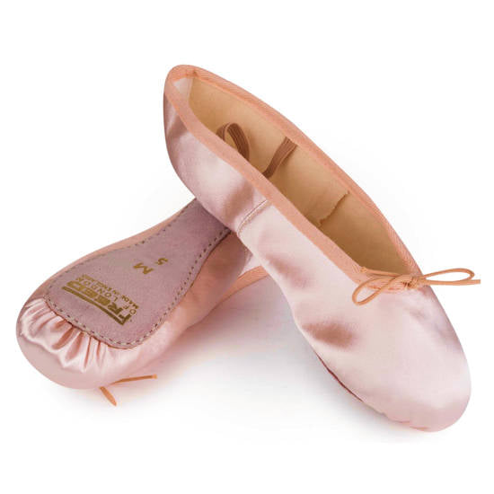 Aspire Full Sole Satin Ballet Shoe