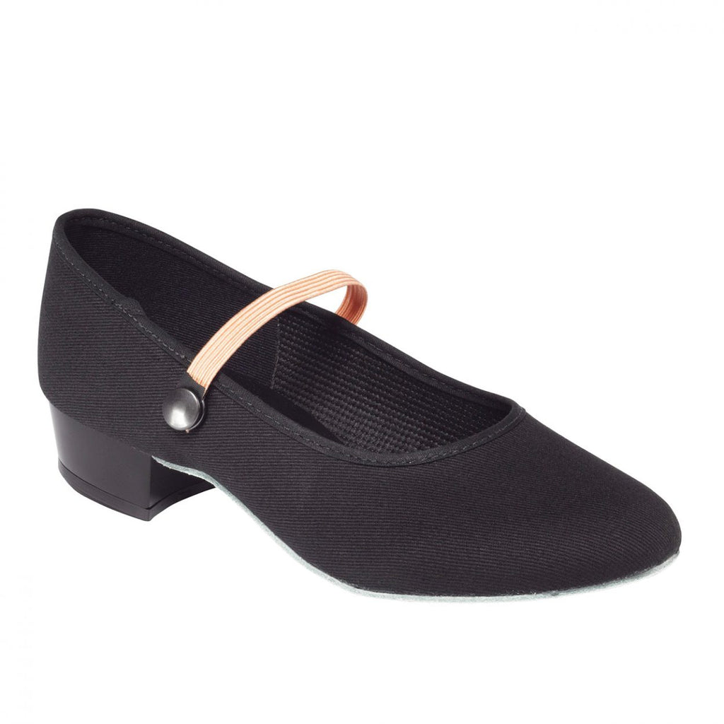 Canvas Character Low Heel Shoe