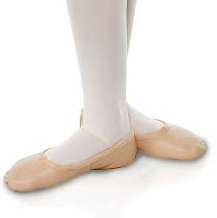 Tapper and Pointers Full Sole Leather Ballet Shoes