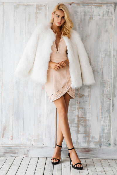 """Show me the Money"" Ultra Plush Faux Fur Coat"