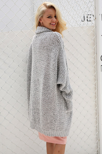"""Around the World"" - Long Knit Cardigan"