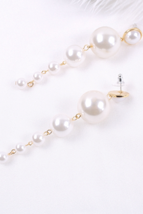 Faux Pearl Drop Earings