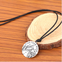 """Find Your Road"" Necklace"