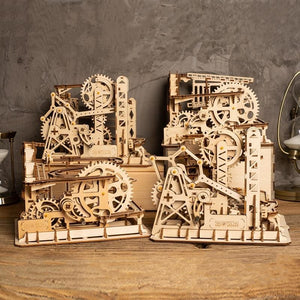Burstify Marble Run Diy Wooden Building Kit