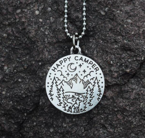 """Find Your Road"" Necklace - Petocity"