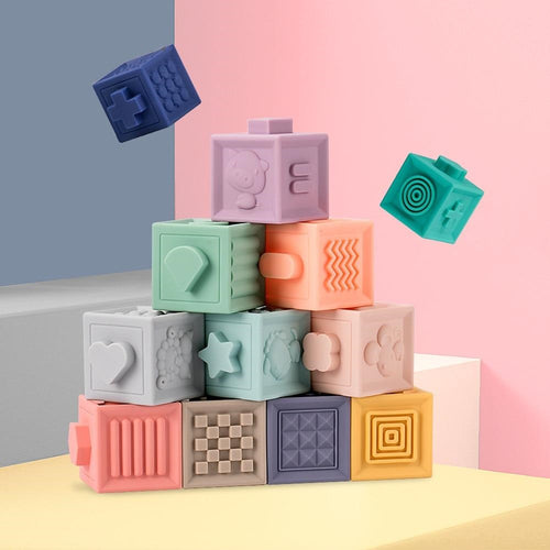 Soft Baby Building Stacking Blocks