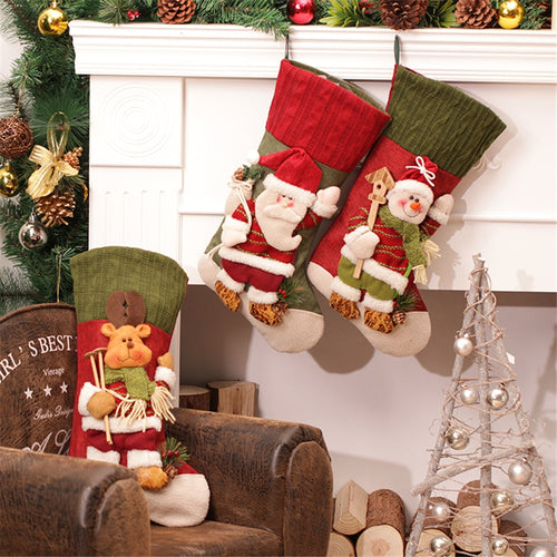 Burstify Creative 3D Christmas Stocking