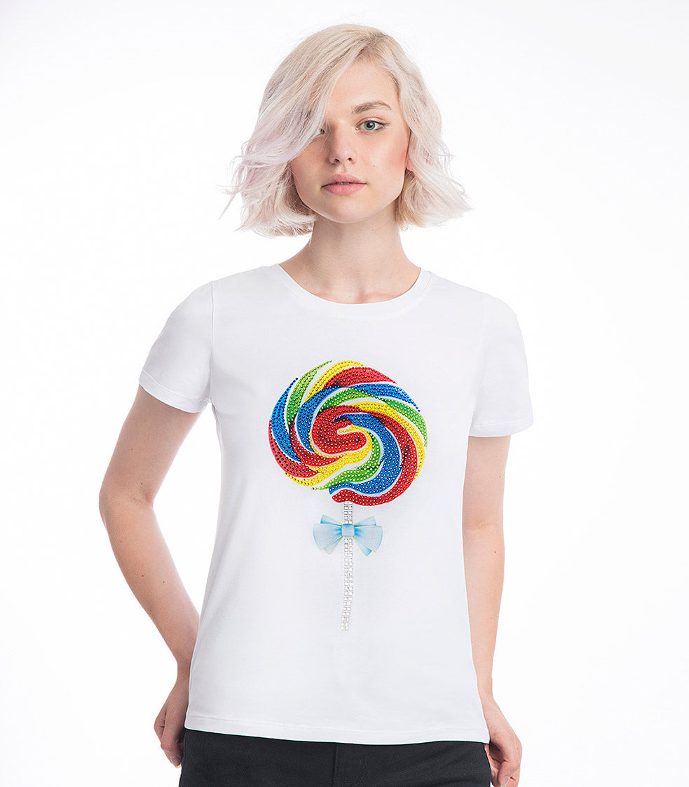 Lollipop Sparkle T-Shirt