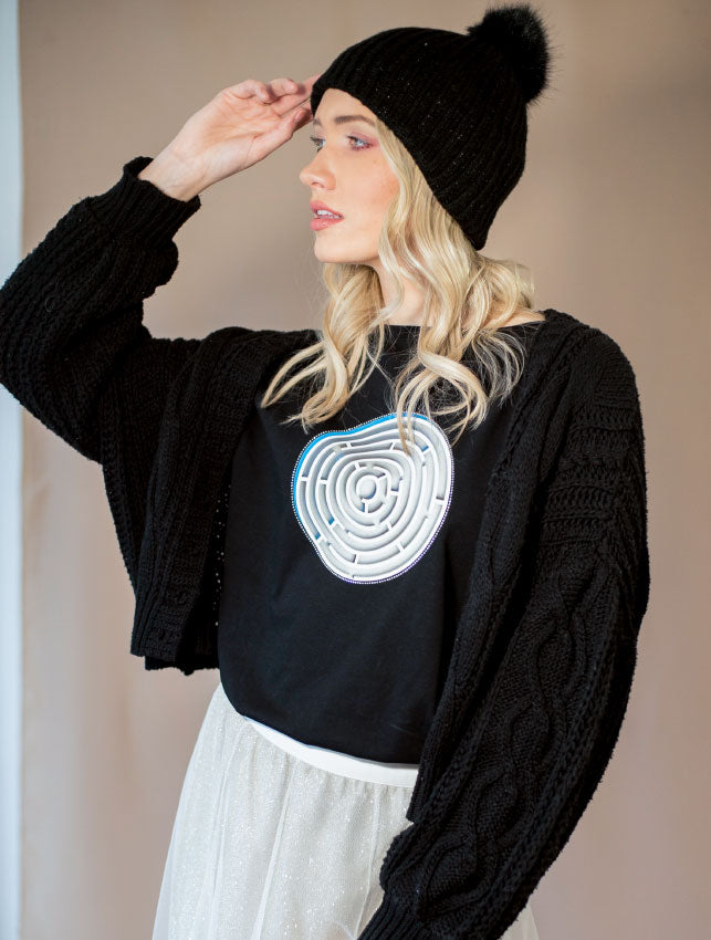 Mystic Maze Long Sleeve T-Shirt