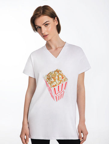 Lollipop Sparkle T-Shirt Dress