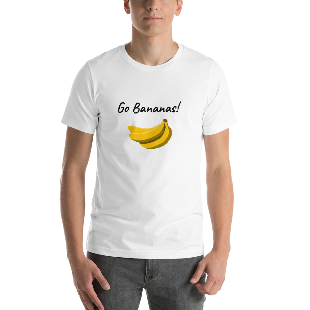 Go Bananas Unisex Short-Sleeve T-Shirt