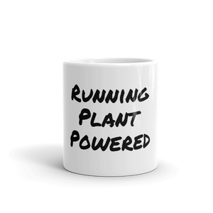 Running Plant Powered Mug