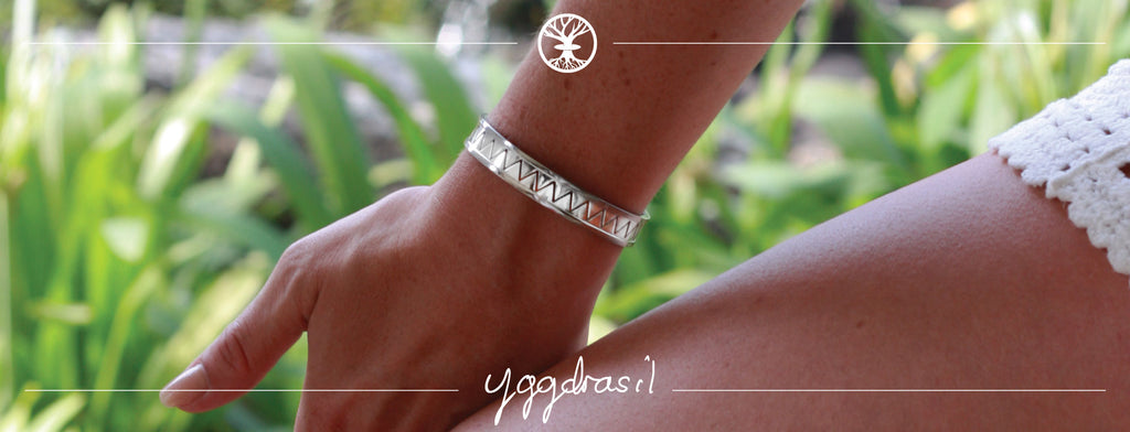 Yggdrasil by Sweden stainless steel jewelry