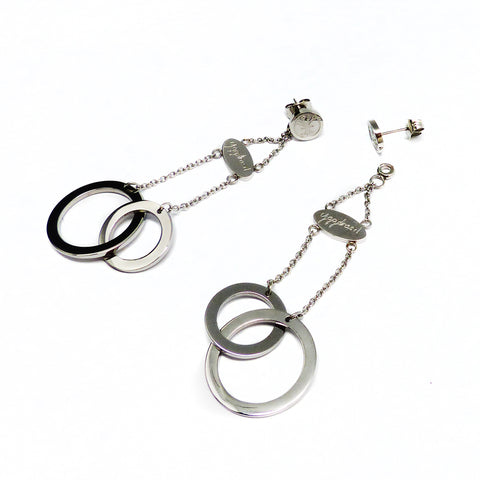 Connected Earring - Stainless Steel