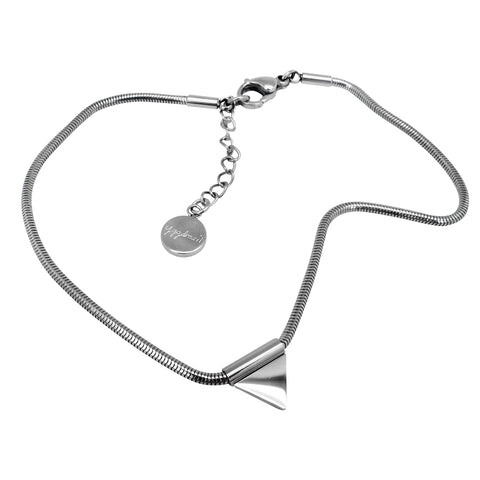 Anklet with pendant stainless steel