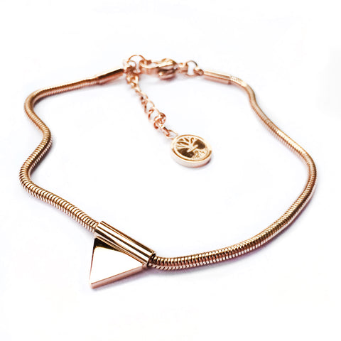 Bracelet Delicate Balance Mini - Rose Gold