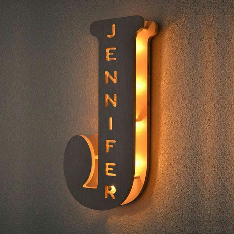 OLIVER Personalised LED Name In Lights Any name available Your Name in Lights