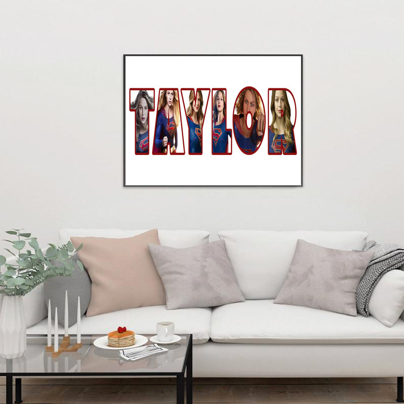 Personalized Name Canvas Wall Decor IX-BUY 2 SAVE 10%