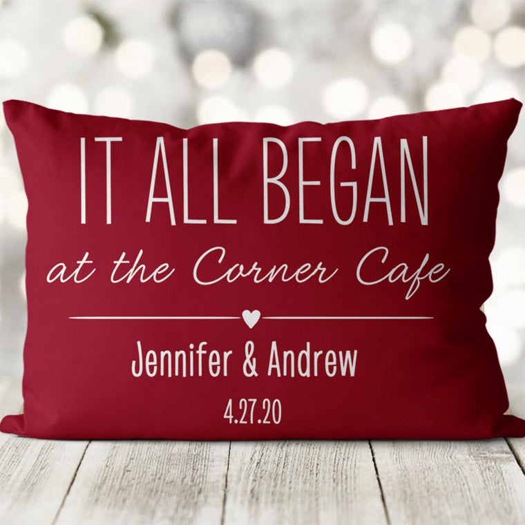 Personalized To My Other Half Pillowcase, Valentine's Day Gift Idea