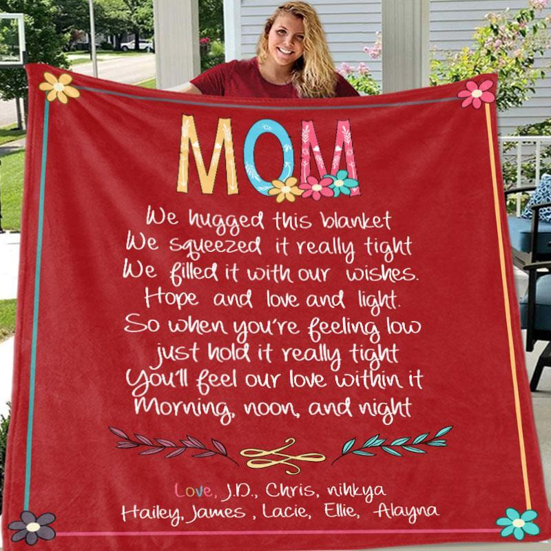 Custom BLANKET with Nickname & Kids Names
