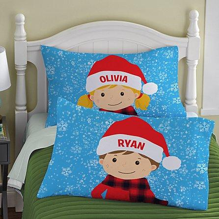 Personalized Kid Boy and Girl Pillowcase With Name