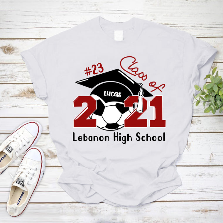 Custom Name School Age Graduation Unisex Heavy Cotton Tee4