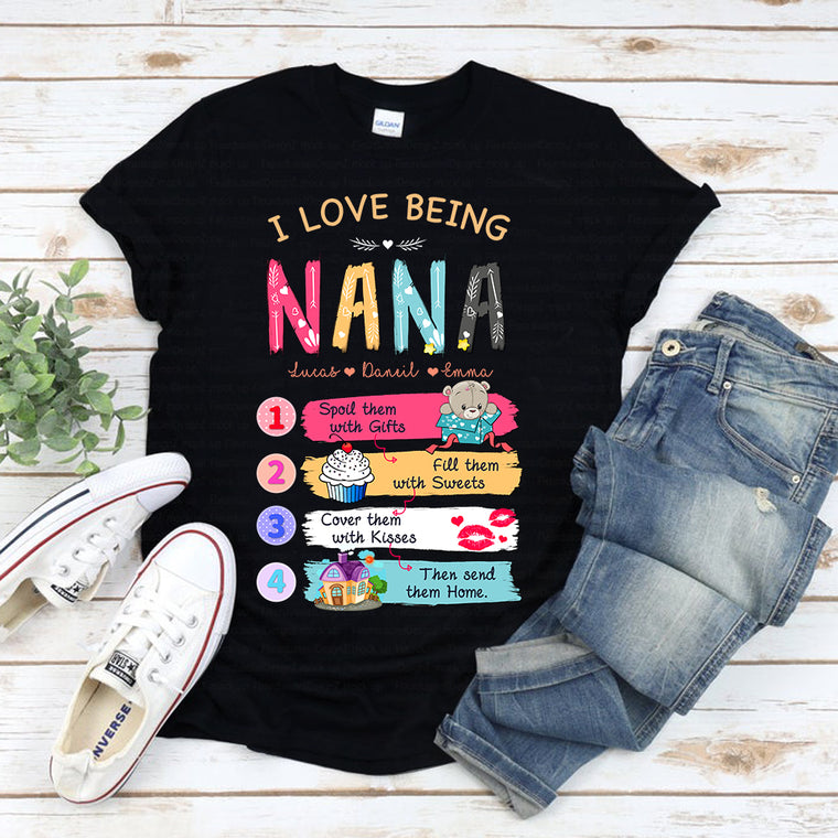 Custom Nana Unisex Heavy Cotton Tee