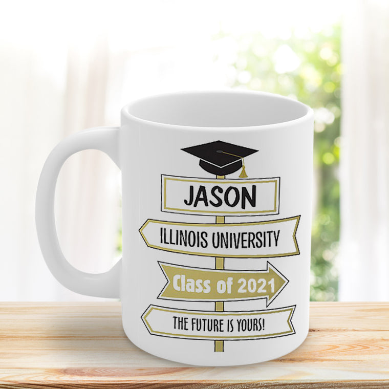 Custom Graduation Ceramic Mug 11oz