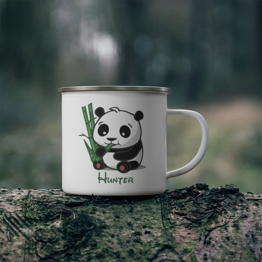 Custom Name Animal Enamel Campfire Mug Ⅺ