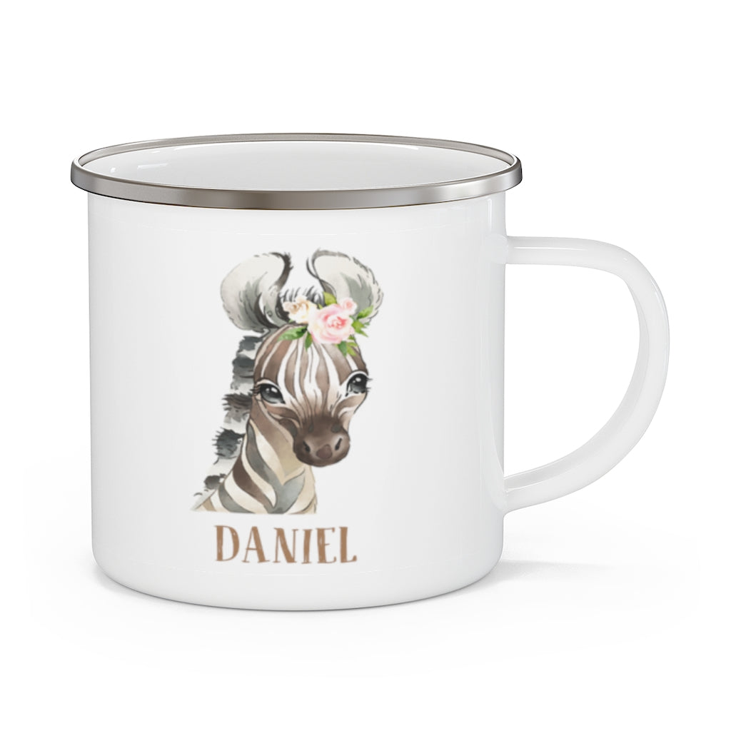 Custom Name Animal Enamel Campfire Mug Ⅴ