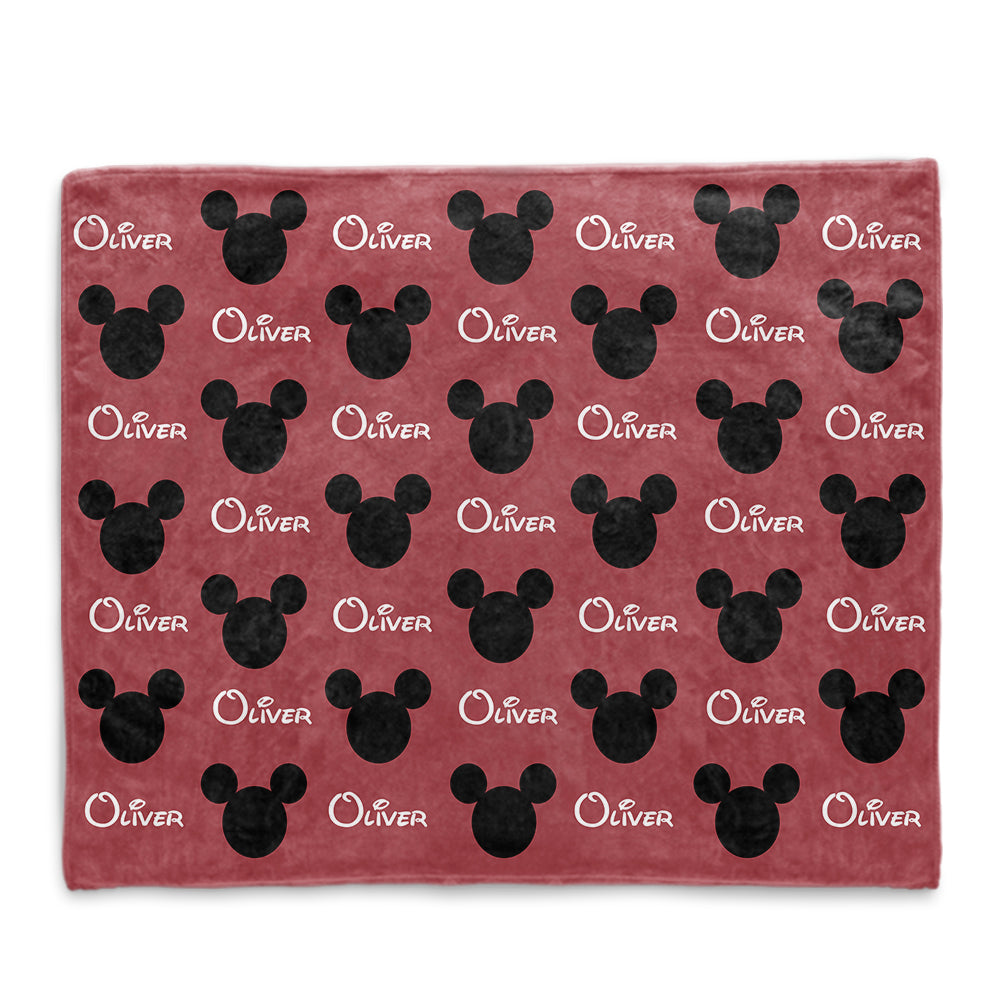 Custom Name Cozy Plush Fleece Blankets III - BUY 2 SAVE 10%