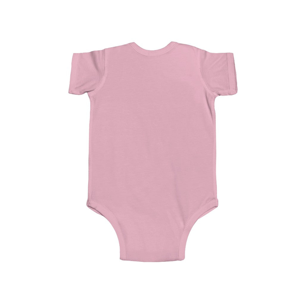Custom Name Infant Fine Jersey Bodysuit Pengu