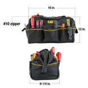 16 in. Tech Wide Mouth Tool Bag