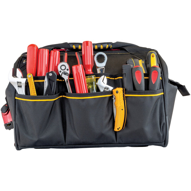 13 in. Wide Mouth Tool Bag