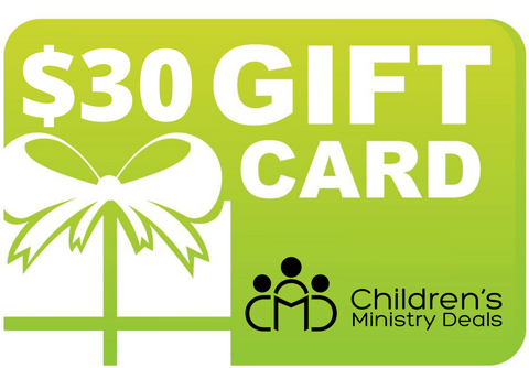 Children's Ministry Deals Gift Card