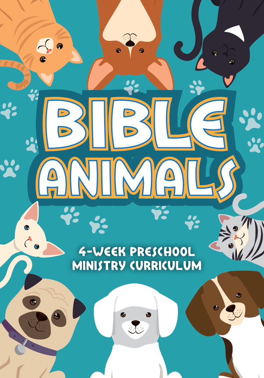 Bible Animals 4-Week Preschool Ministry Curriculum