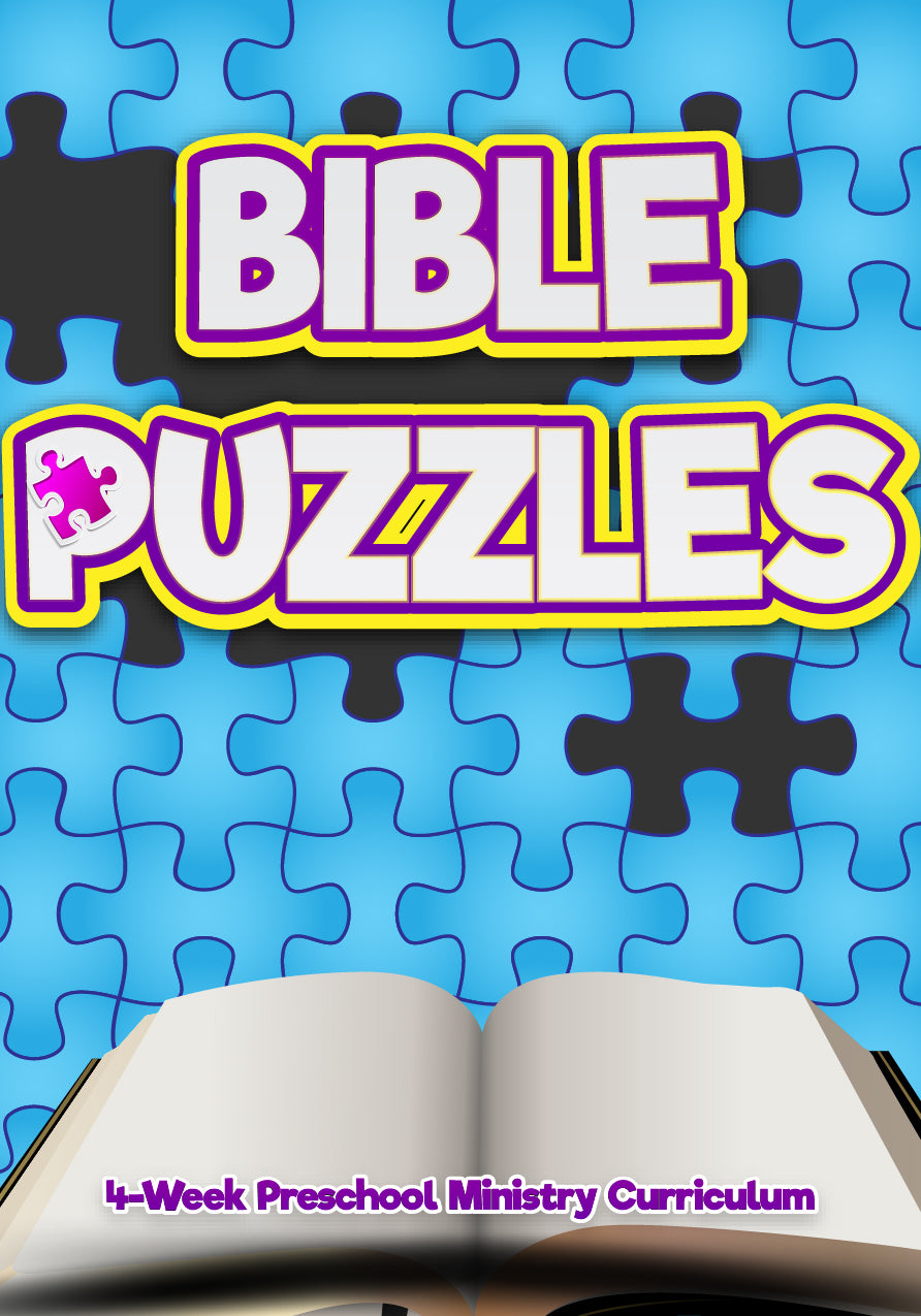 Bible Puzzles 4-Week Preschool Ministry Curriculum