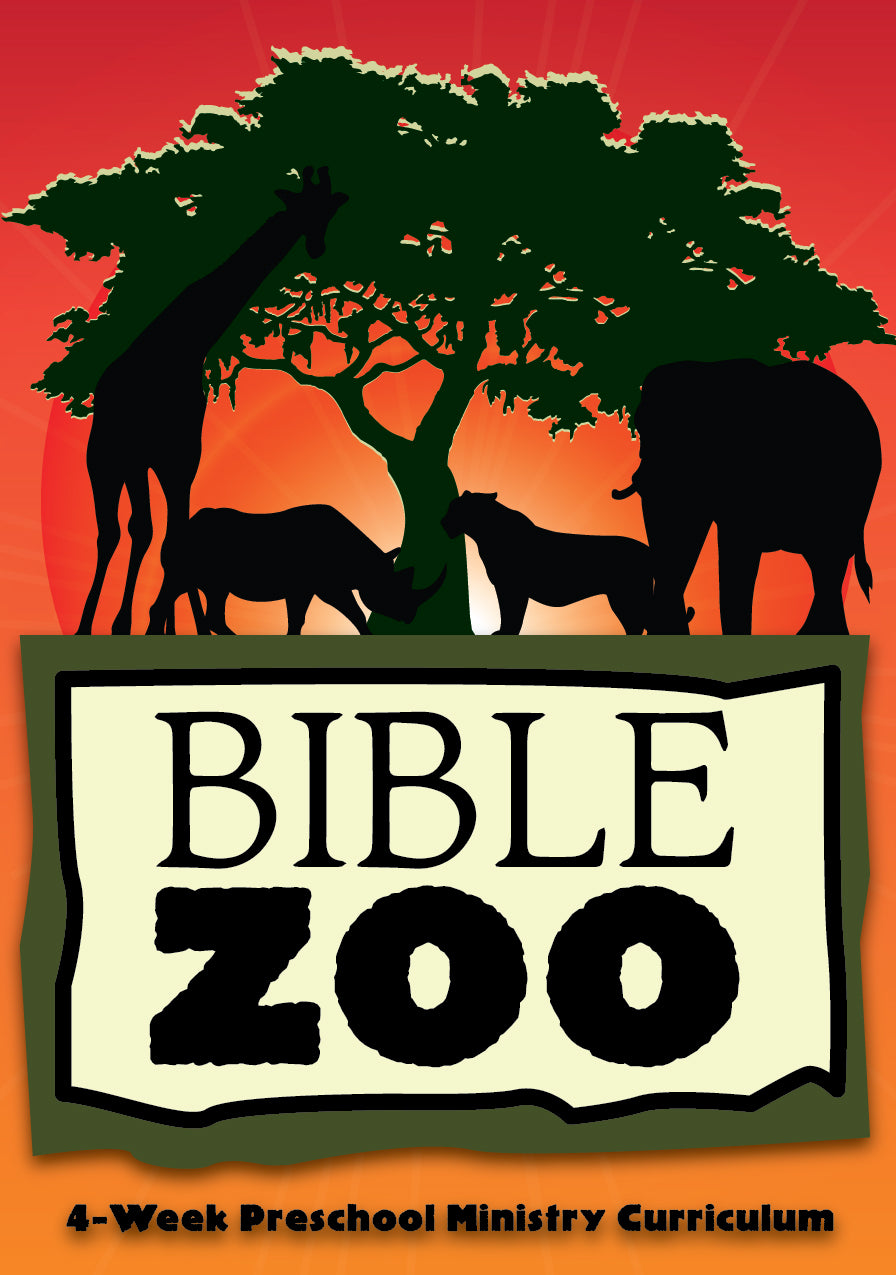 Bible Zoo 4-Week Preschool Ministry Curriculum