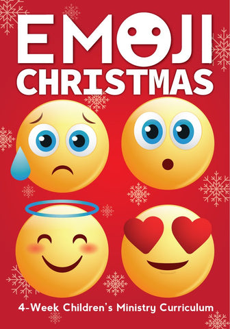 Emoji Christmas Children's Ministry Curriculum