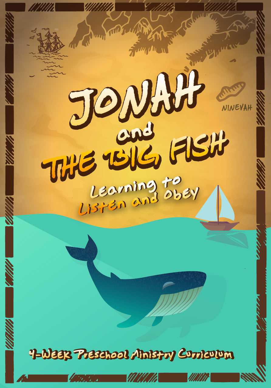 Jonah 4-Week Preschool Ministry Curriculum