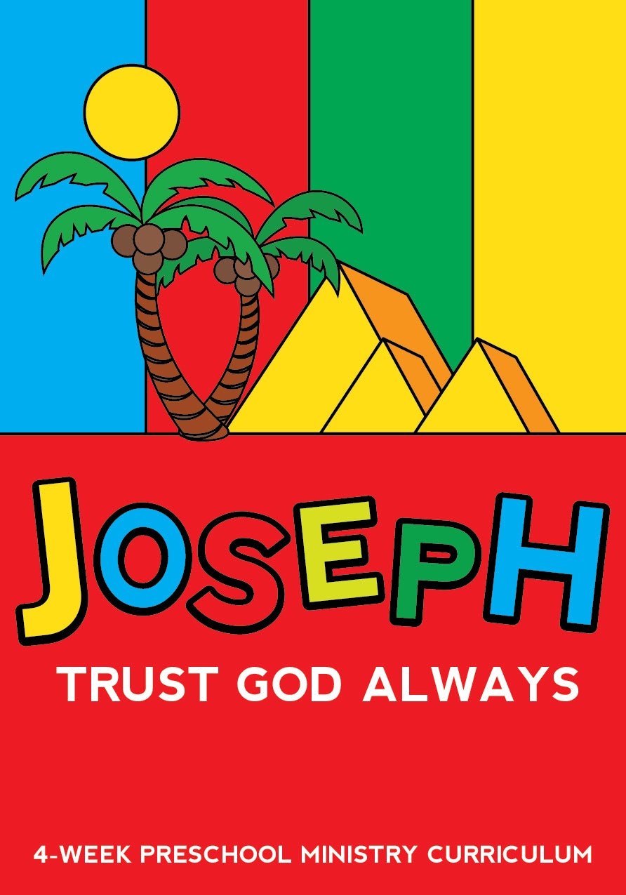Joseph 4-Week Preschool Ministry Curriculum
