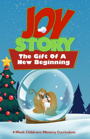 Joy Story Christmas 4-Week Children's Ministry Curriculum