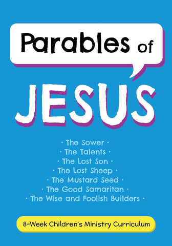 Parables of Jesus Children's Ministry Curriculum