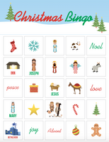 Christmas Bingo Game for Kids