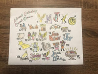 Advent Coloring Calendar for Kids