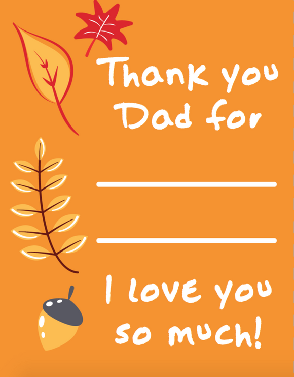 Thanksgiving Thank You Notes