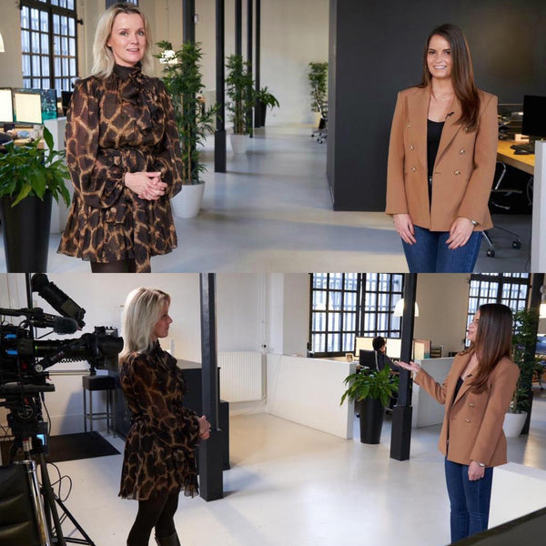 Business Class RTL7: Suze Mens in gesprek met Brandmanager Noëlle over collageen