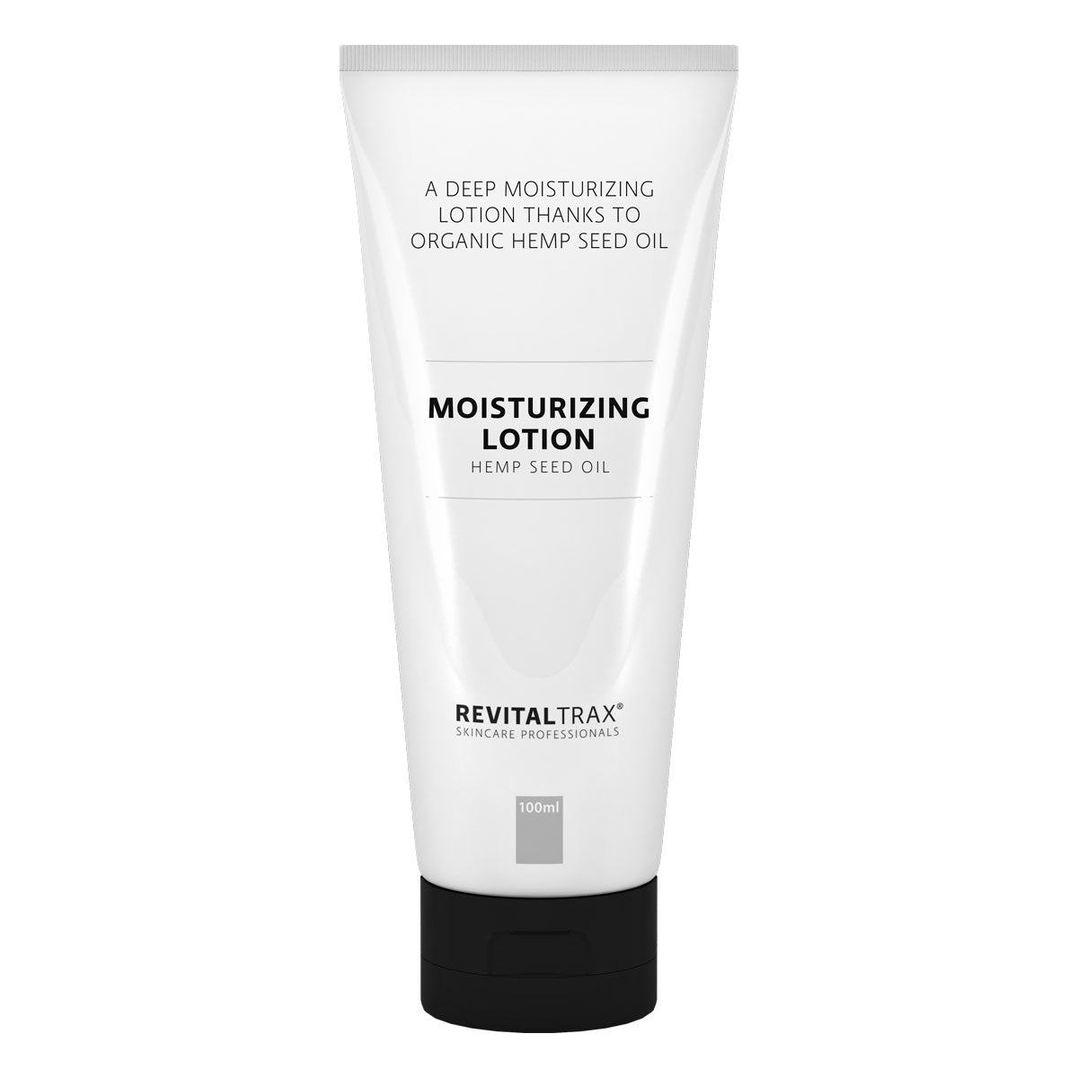 RevitalTrax Moisturizing Lotion. Diep hydraterende gezichts lotion met hemp seed oil.