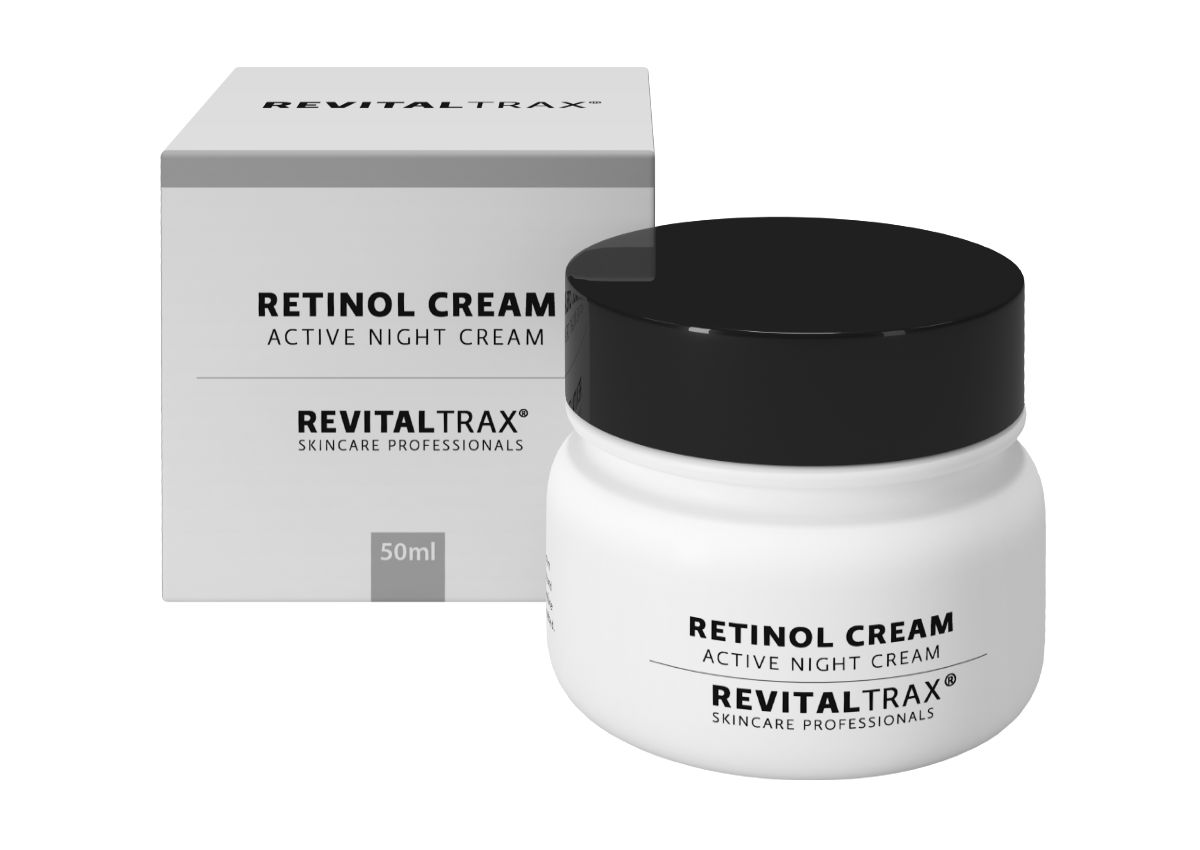 RevitalTrax Retinol Cream, Active Night Cream. Nachtcreme met retinol.